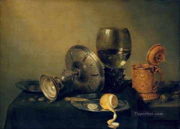 Still still Willem Claeszoon Heda Oil Paintings